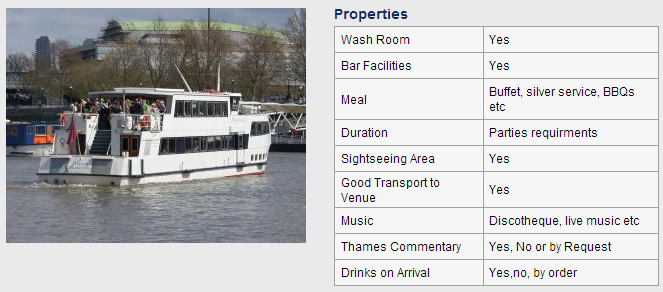 Thames Boat Hire Photo and Properties Image 2
